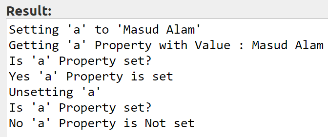PHP Property Overloading unset Property Value