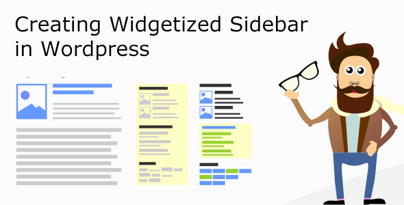 Creating Widgetized Sidebar in WordPress